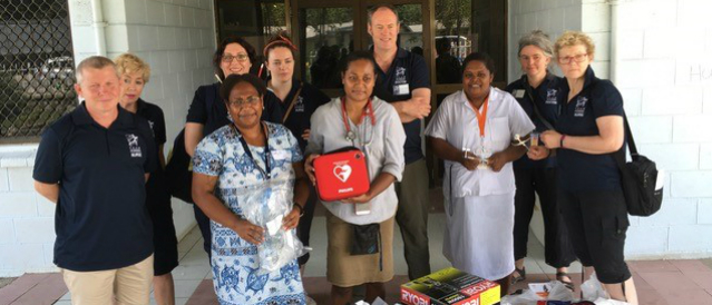 Goodwood sponsorship recipients from Solomon Islands