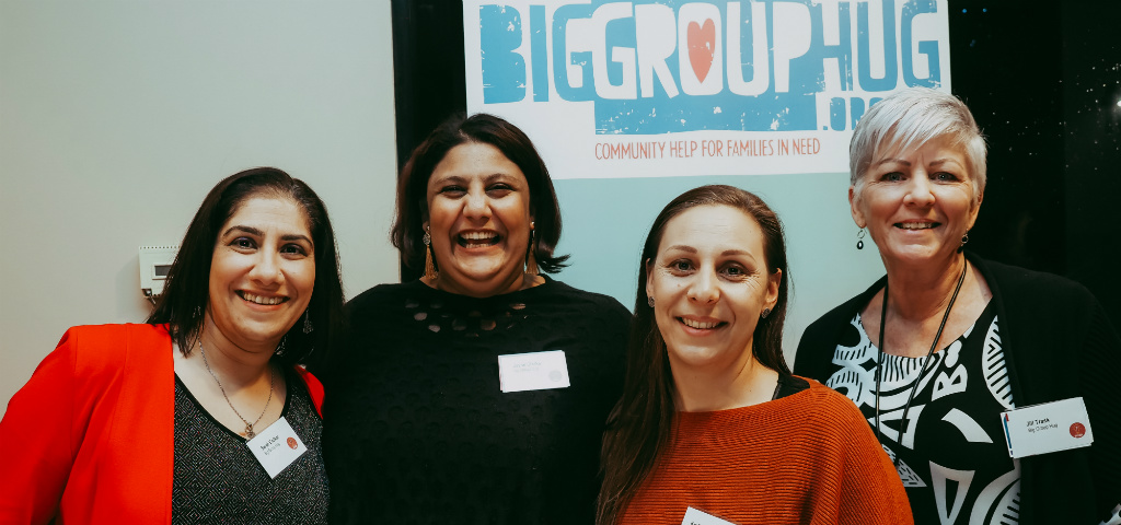 Attendees of Heidelberg Community Pitch night from Big Group Hug.