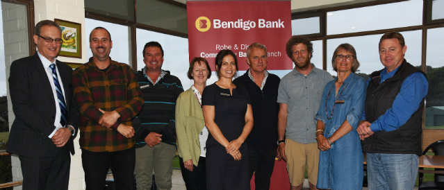 Nine local people who are the directors of Robe Community Financial Services which operates Robe Community Bank Branch.