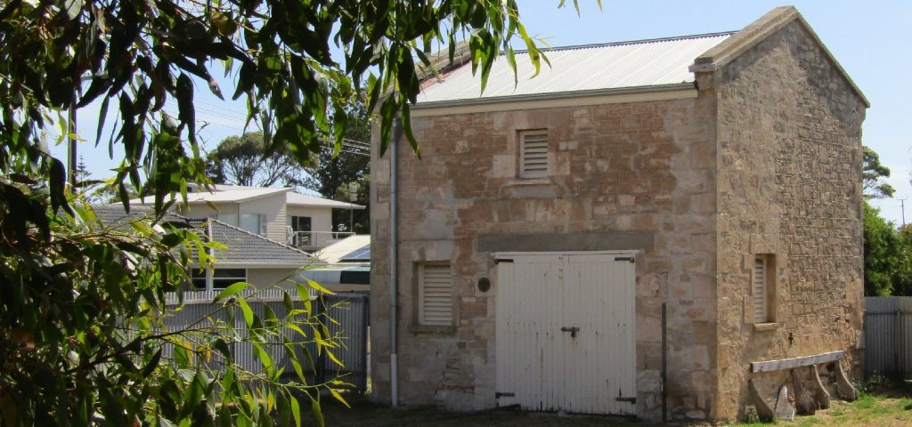 Photo of the old Police stables in Robe